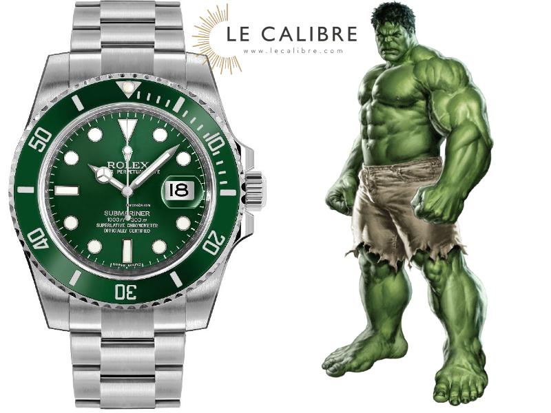 Rolex The Hulk