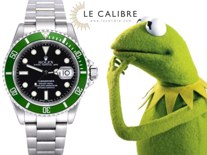 Rolex Kermit 16610lv