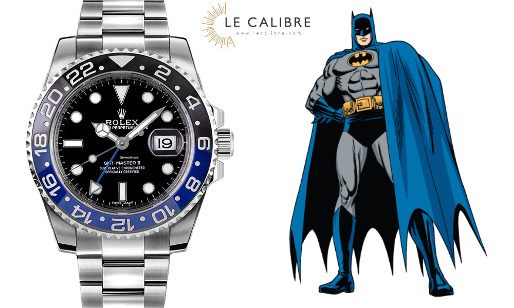 Rolex gmt batman LC