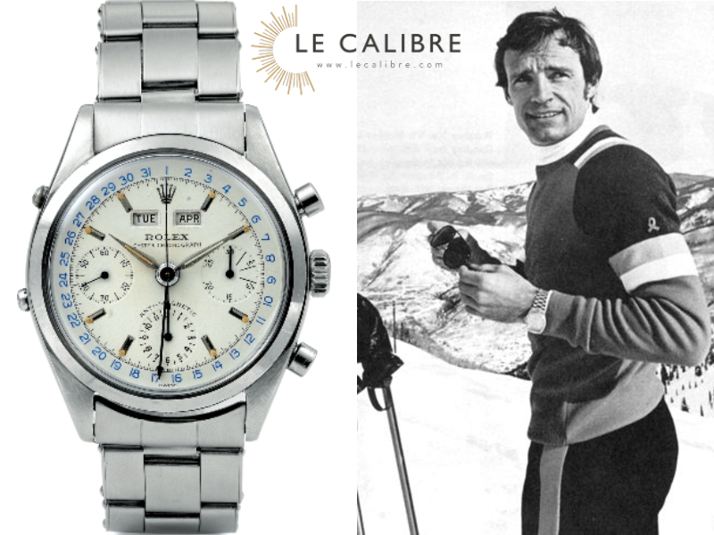 rolex jean claude killy