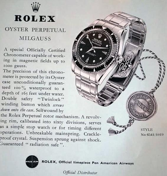 Rolex Milgauss pub