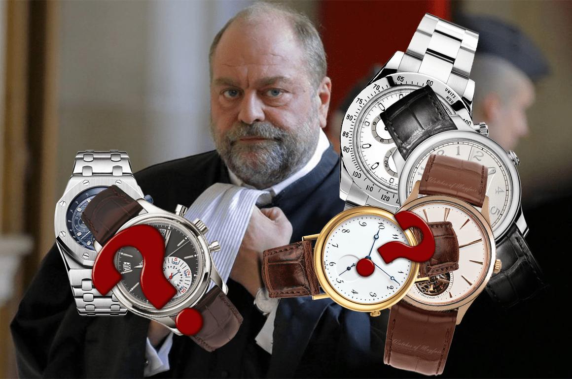 Eric Dupond-Moretti: Son incroyable collection de montres