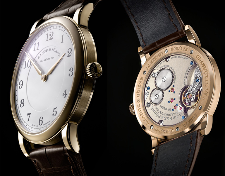 1815 Thin Honeygold Hommage a FA Lange