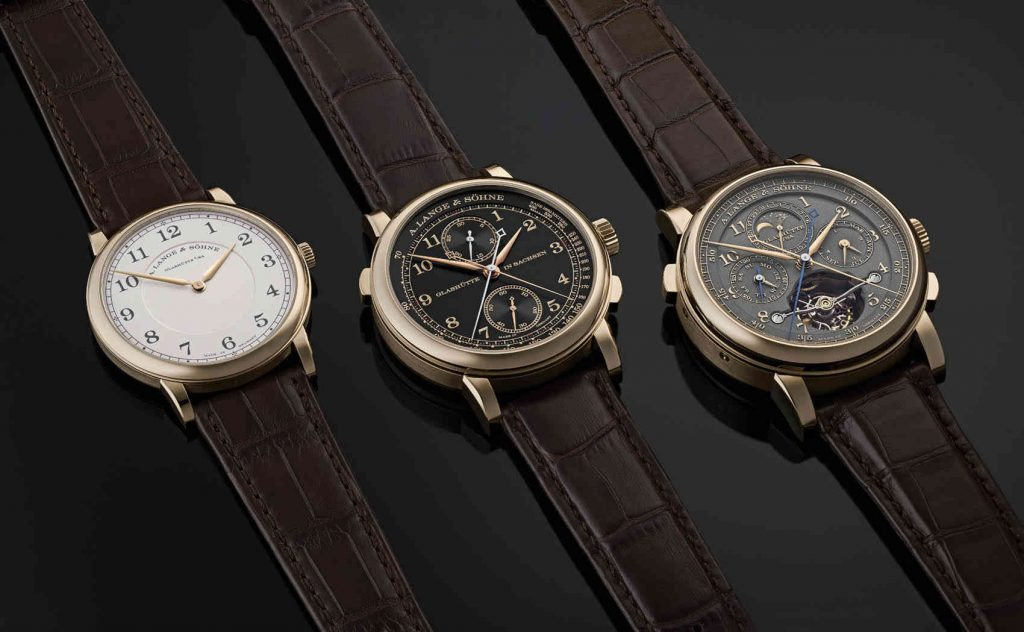 "La collection 1815 ""Hommage à F.A.Lange"""