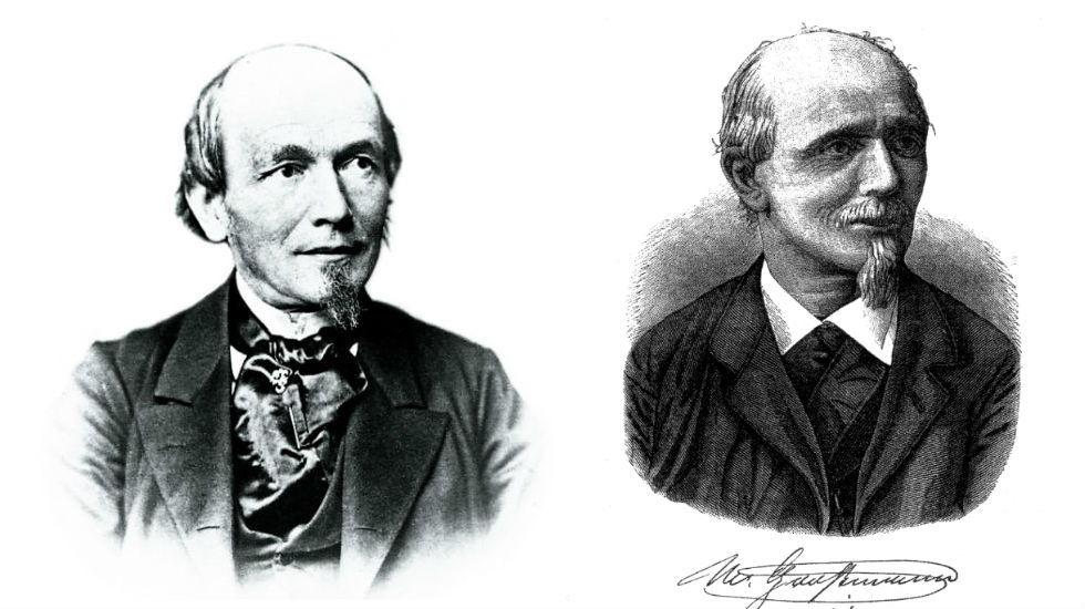 Ferdinand Lange et Moritz Grossmann