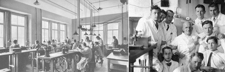 L'école d'horlogerie, Grossmann et ses élèves