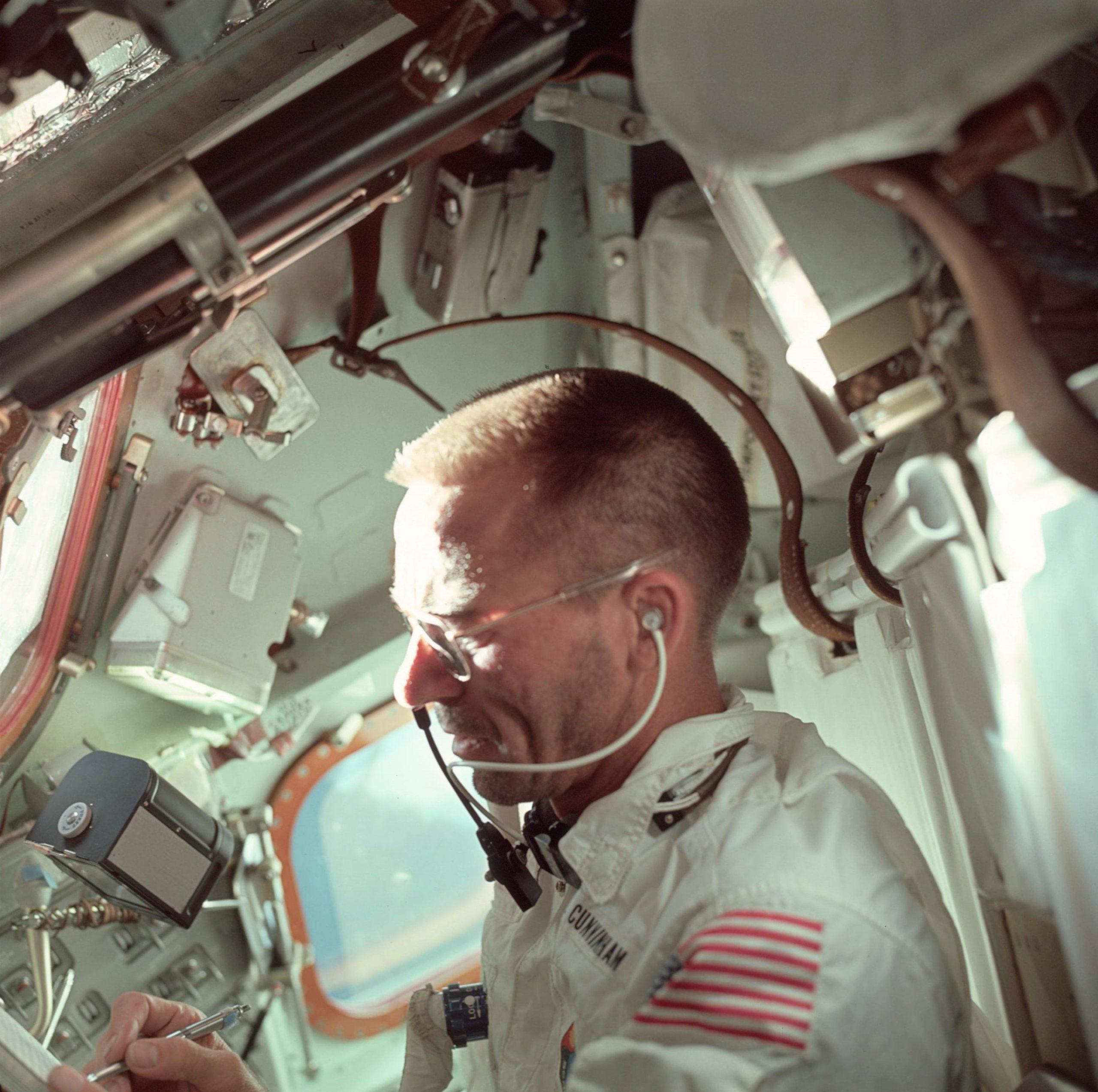 Walter Cunningham Source NASA