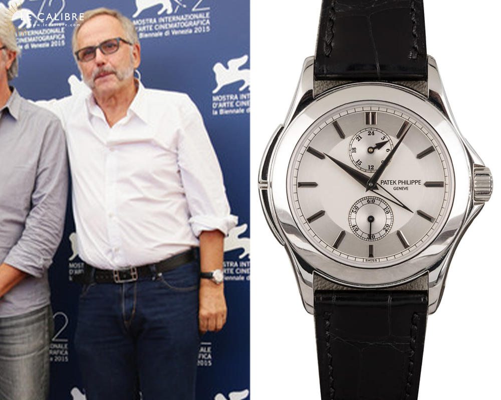Luchini Patek Calatrava Travel time