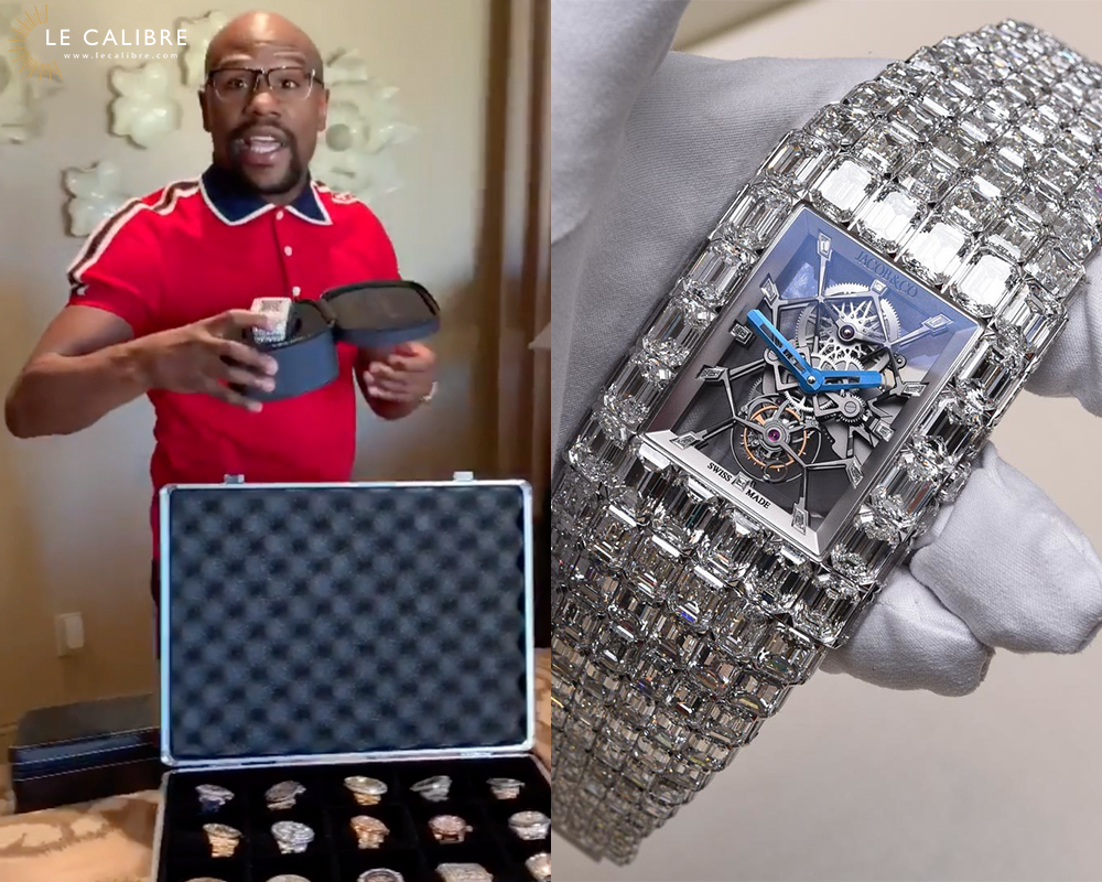 Mayweather jacob n co billionaire watch