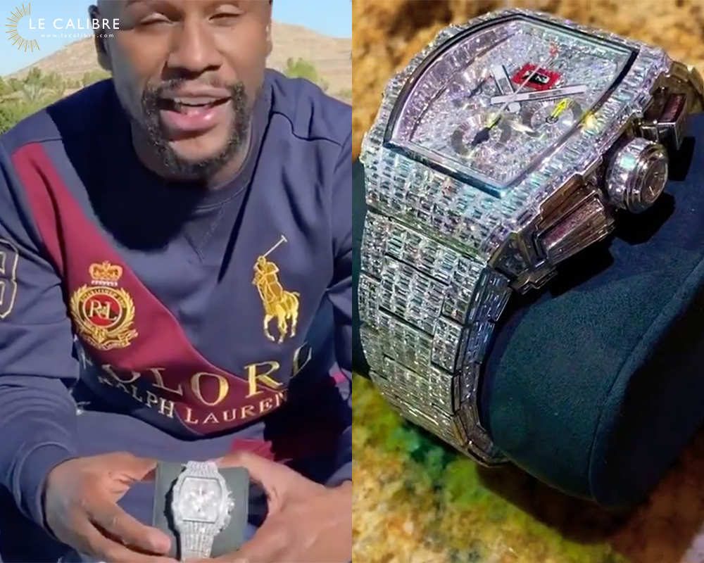 Mayweather richard mille rm 11-03 baguette