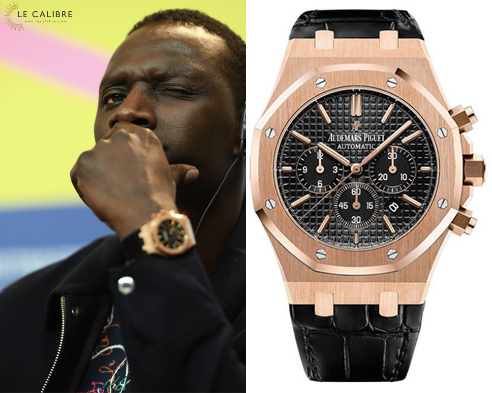 Omar Sy AP RO Chrono or rose