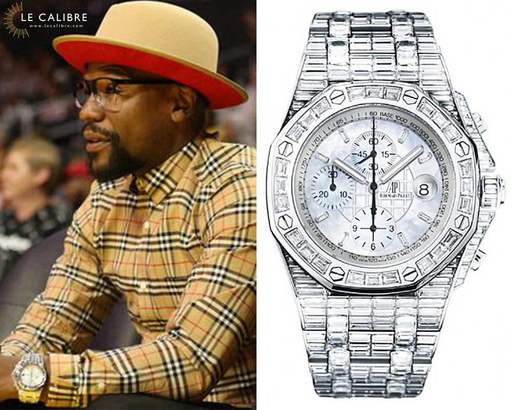 mayweather RO chrono diamants