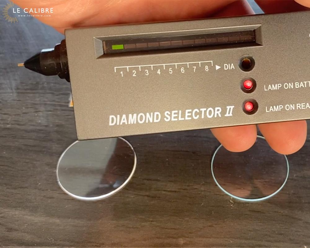 diamond selector test