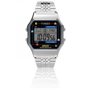 montre-digital-acier-inoxydable-t80-pac-man-tw2u31900-timex
