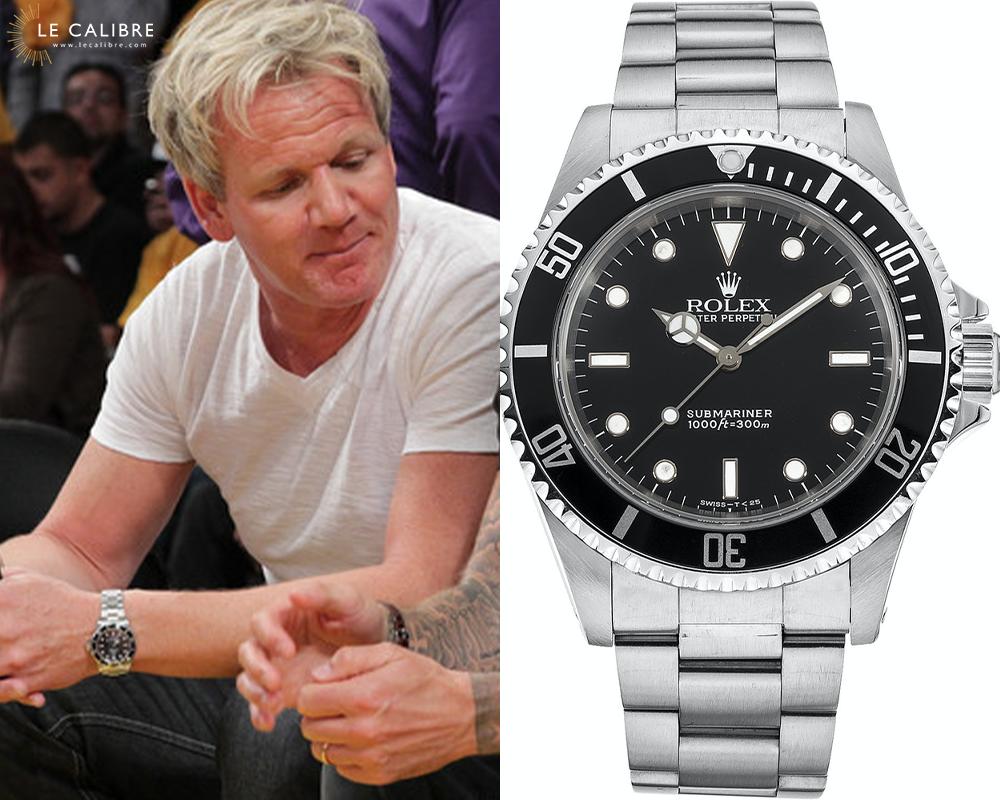 Gordon Ramsay Rolex Sub 14060