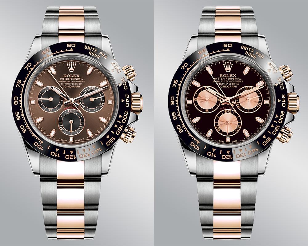 predictions daytona everose rolesor monochrome watches