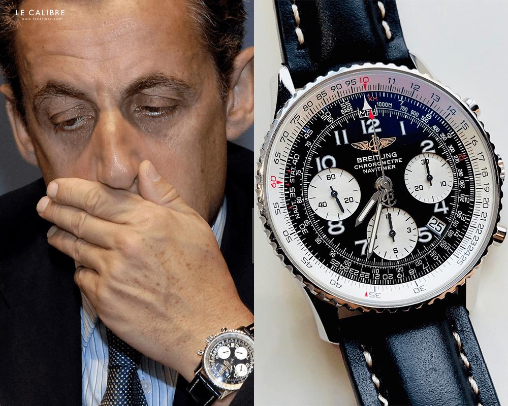 Sarkozy Breitling Navitimer