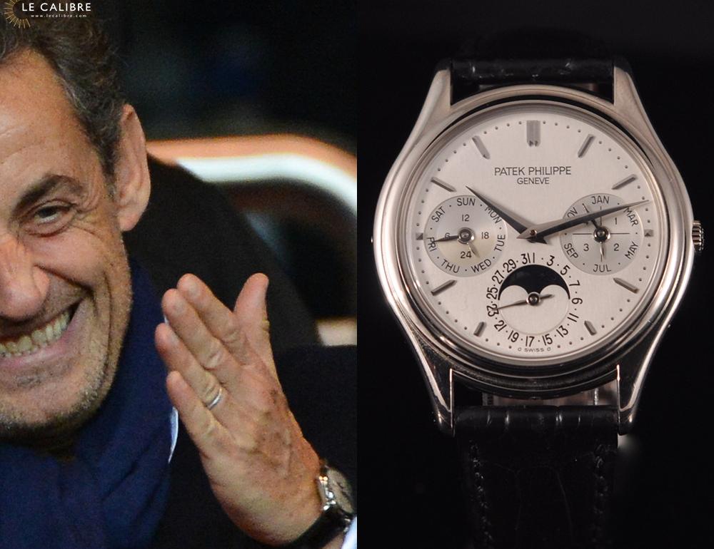 La collection de Nicolas Sarkozy : Que des Rolex ?