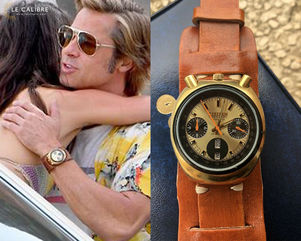 Brad Pitt Once Upon a Time in Hollywood Citizen Bullhead Challenge Timer 67-9020