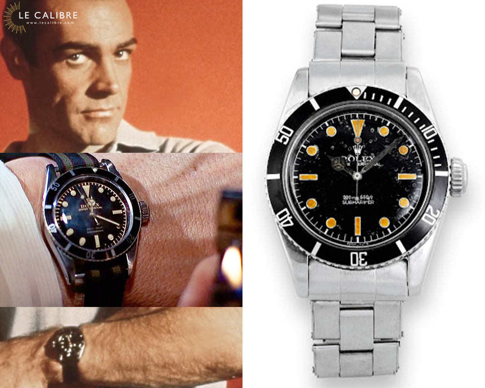 James Bond Submariner 6538 two lines