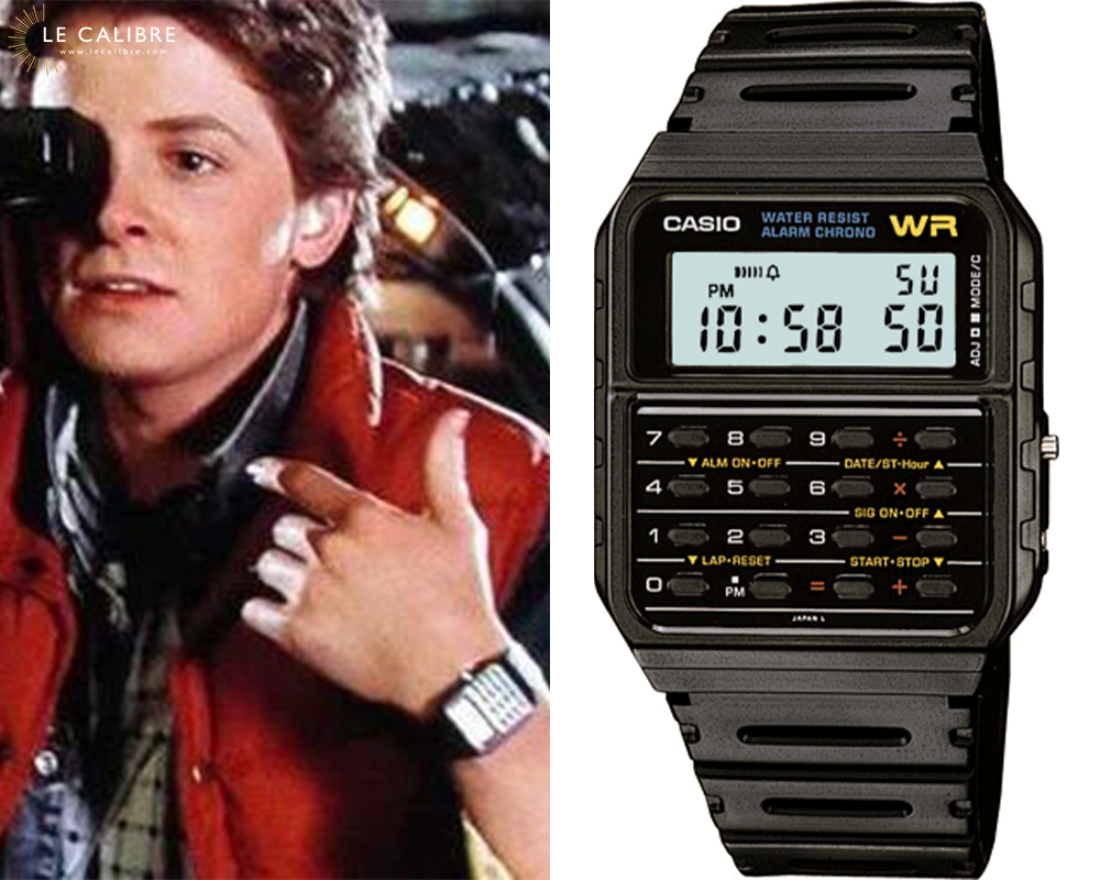 Marty McFly Casio Calculette