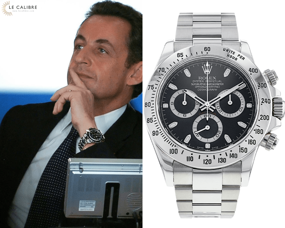 Sarkozy daytona 116520