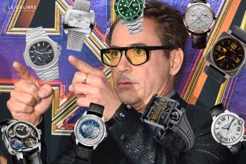 Une montres robert downey jr