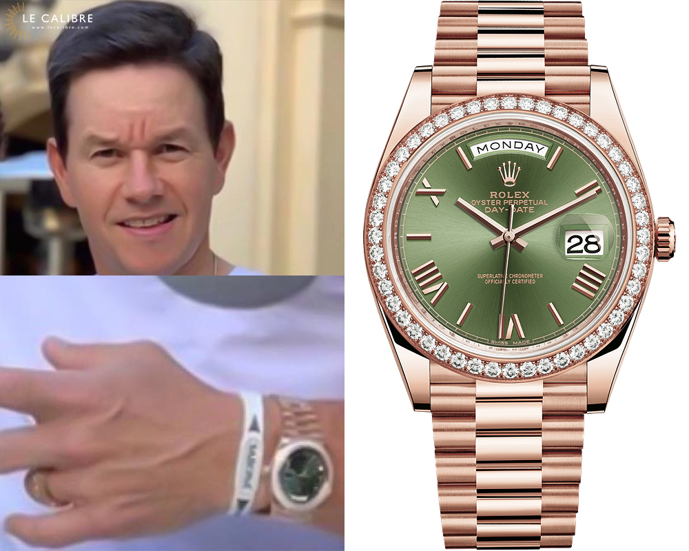 Mark Wahlberg Rolex Day-Date 228345RBR