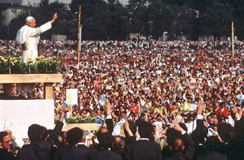 jean paul II aux philippines en 1995