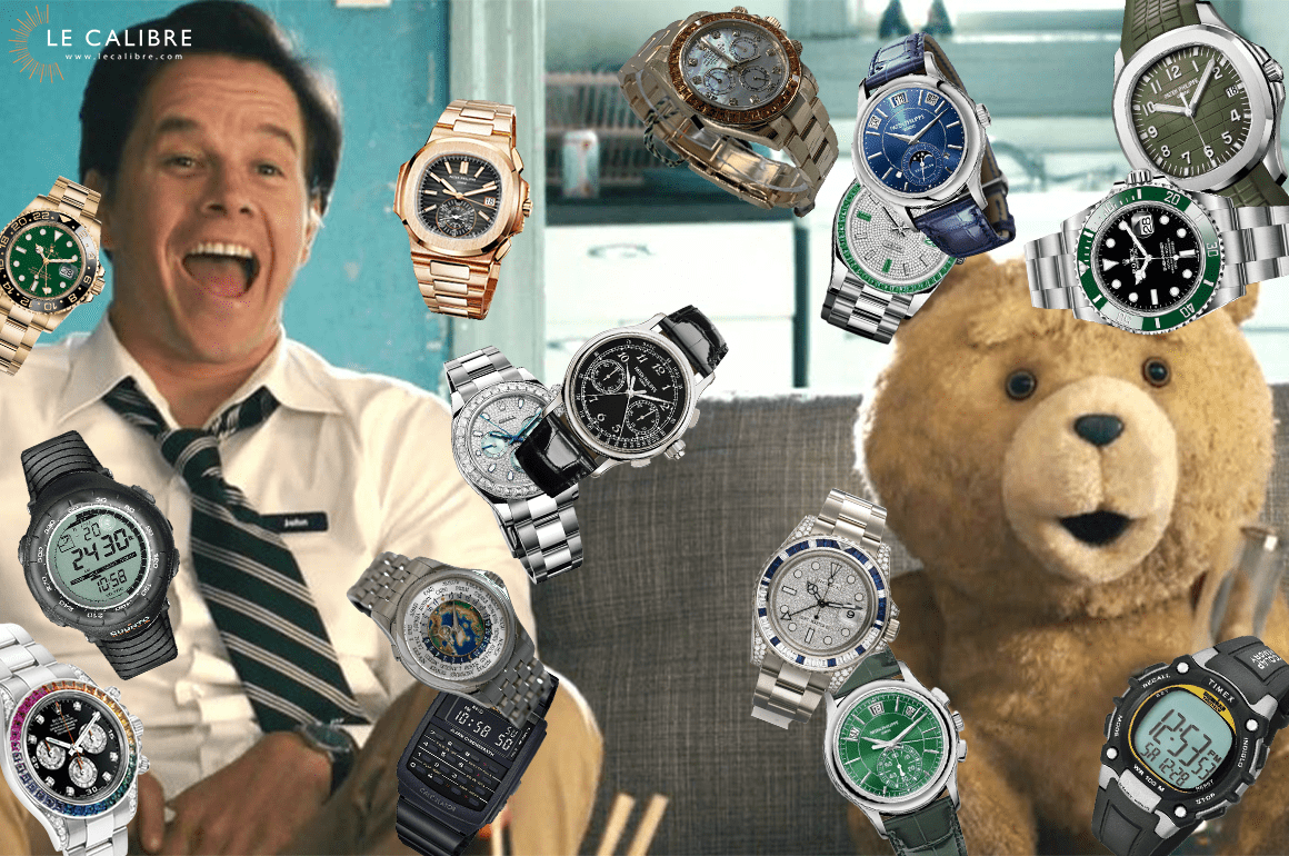 Mark Wahlberg : une collection de montres tout juste incroyable