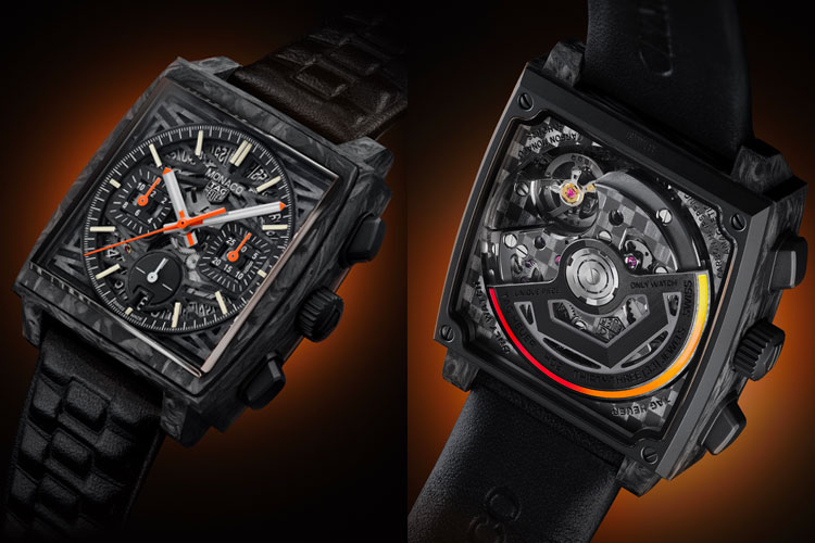 Tag Heuer Only Watch Carbon Monaco